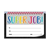 Creative Teaching Press Bold & Bright Super Job! Incentive Award (30 Per Pack), Multi (2516)