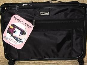 Medium Black Mascot Tutto Machine on Wheels Sewing Carrier Case