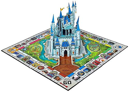 Disney World Theme Park Pop-Up Edition Monopoly Game