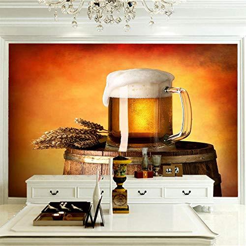 Art Print Fototapeten Bier Wandbilder Wohnzimmer Fernseher Sofa Hintergrund Tapete Moderne Wohnkultur Zimmer 400CMx280CM