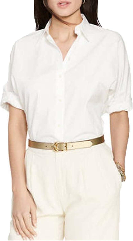 Lauren Ralph Lauren Women's DolmanSleeve Cotton Shirt