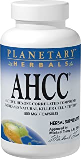 Source Naturals AHCC 500mg Active Hexose Correlated Compound - Maximum Absorption Shiitake Mushroom Defense Increase Natural Killer Cell Activity - Powerful Antioidant for Immune Health - 60 Capsules