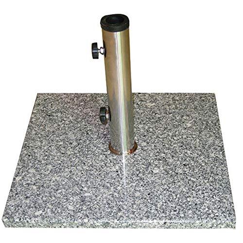 Humlin 10kg Granite Stone Square Garden Parasol Base Weight