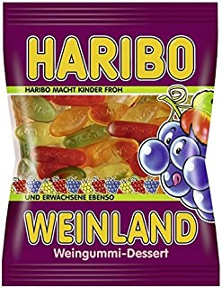 Haribo Weinland Gummi Candy -pack of 6 x 200g