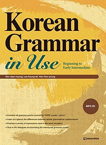 Korean grammar in use : beginning: MP3 CD included