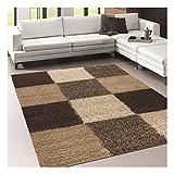 Un amour de alfombra Norlaz, 65 x 130 cm, alfombra moderna para entrada, alfombra rectangular gris, junco de mar, beige, 160 x 230 cm