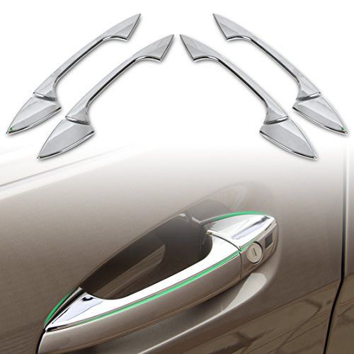 beler Chrome Car Exterior Zubehör Türgriff Abdeckung Trimmdeckel