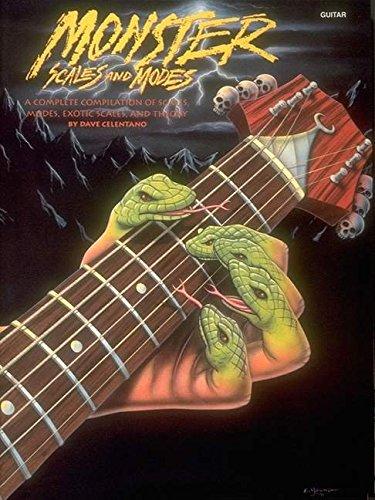 Monster Scales & Modes -Album-: Noten für Gitarre