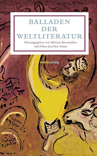 Buchseite und Rezensionen zu 'Balladen der Weltliteratur (Leinen)' von Kronstädter, Miriam