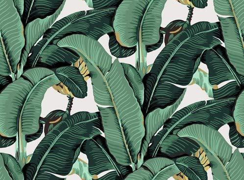 IXXI Wanddekoration (Cards 10 x10 cm) Banana Leaf - L - 220 x 200 cm Wall Decoration, großes Wandbild, Mosaikbild, Poster, Mosaik, Wanddeko, Collage, Wandbehang, Home Wanddeko, Wandbilder