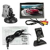 Monitor per auto digitale a schermo LCD a colori TFT da 5 pollici 800 * 480 con ventosa e ...