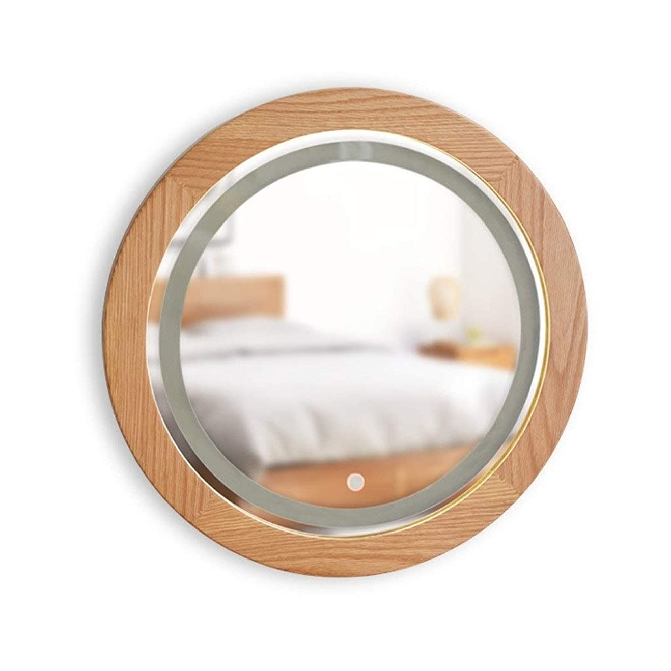 意識テント荷物化粧鏡 メイクアップミラーウォールライトと一緒に家にミラーベッドルームバニティミラーハンギング