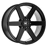 BLACK RHINO Karoo 22x10 6x135 30 Matte Black (Qty of 1)