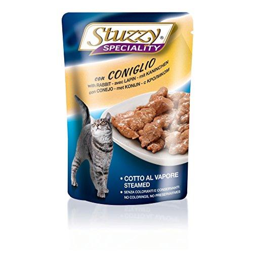 Stuzzy Cat Kaninchen, Katzenfutter nass in Soße, 24 Beutel x 100g