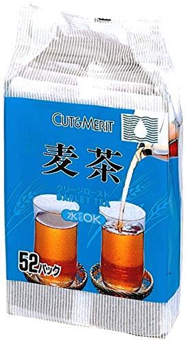 小谷穀粉 OSK カット&メリット 麦茶 52包入 520g×15