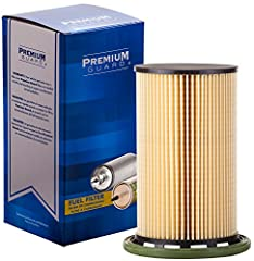 Premium Guard Diesel Fuel Filters are highly efficient in filtering diesel fuel system contaminants to meet modern diesel's engine demands for optimum fuel flow which ensures the system is free of contaminants and water. Premium Guard Diesel Fuel Fil...