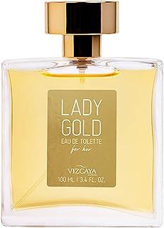 Lady Gold Vizcaya Eau de Toilette Feminino 100 ml, Vizcaya