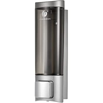 Anself CHUANGDIAN Manuale Mano Sapone Dispenser Liquido Mount Shampoo Dispenser a Muro per Bagno 200ml