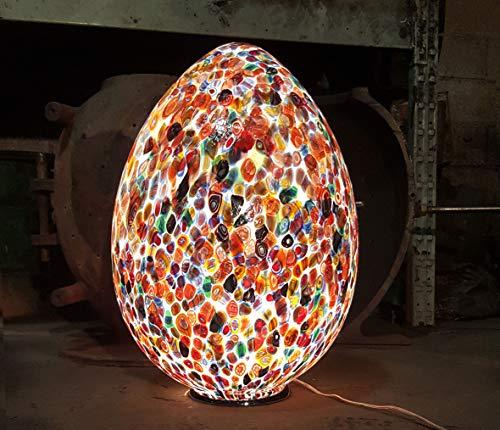 Tischlampe Murano Zefiro–Muranoglas Multicolor–29x 41x 29cm   Table Lamp Murano Zefiro–Muranoglas Multicolor–29x 41x 29cm