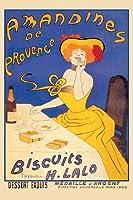 """Amandines de Provence Biscuits Fineアートキャンバス印刷( 20"""" x30"""" )"""