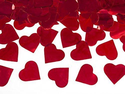 Metallic Hartjes Confetti Kanon - Valentijn Collectie