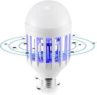 Winbang Lámpara eléctrica del asesino del mosquito, lámpara de la avispa anti de la avispa anti de la avispa anti del insecto del mosquito de E27 15W