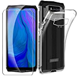 HYMY Case Cover + Tempered Film for Blackview BV9100 -