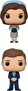 Funko Pop! Icons Bundle of 2: President John F Kennedy and First Lady Jackie Kennedy