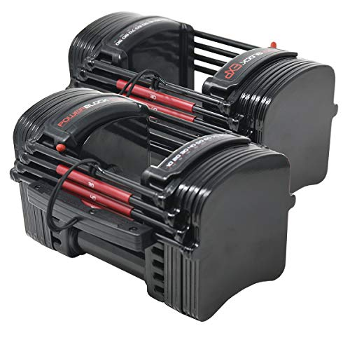 PowerBlock EXP Stage 1 Adjustable Dumbbell Set $346 + Free S&H