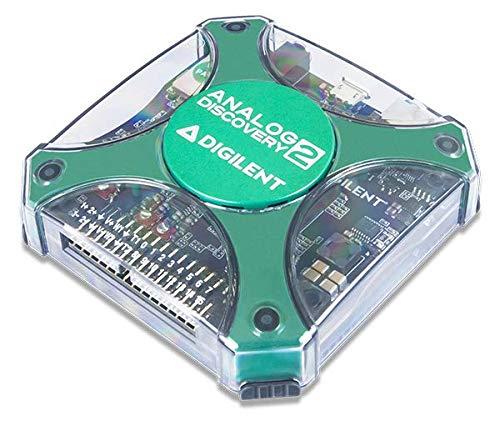 Digilent 410-321 Analog Discovery 2 - Osciloscopio de Dos Canales, 100 Msps USB