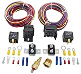 """JEGS Dual Fan Wiring Harness & Relay Kit 