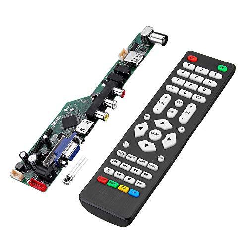 KASILU YHJ322 T.V53.03 Universal LCD LED Controlador de TV Tablero de Controlador TV/PC/VGA/HDMI/USB con distante Alto Rendimiento
