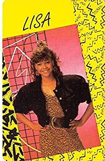 Lark Voorhies trading game card Lisa Turtle Saved by the Bell #50 Size 2x3 inches