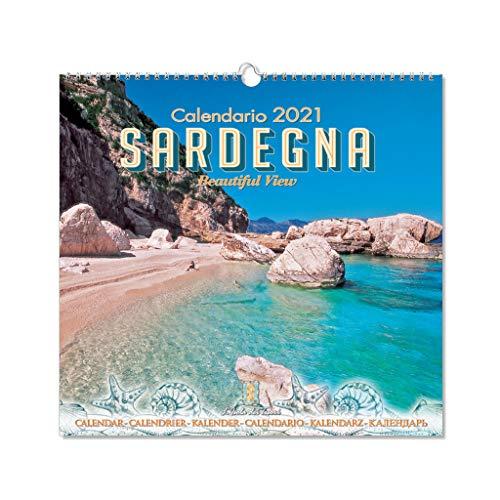 Calendario da tavolo Sardegna 2021 f.to 16 x 17 cm (mod.01)