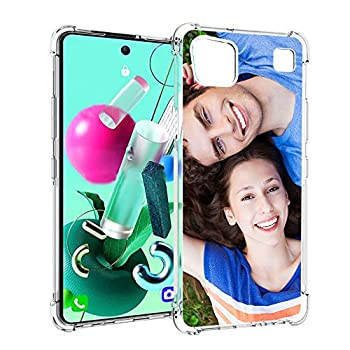 SHUMEI Custom Case for LG K92 5G Version 6.7 inch Cover Anti-Scratch Soft TPU Clear Personalized Photo Make Your Own Picture Phone Cases