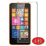 VacFun Lot de 4 Film de Protection d'écran pour Nokia Lumia 635/630 0,14mm, sans Bulles,...