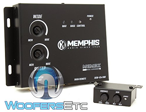 Memphis Audio MEMBX Innovative Digital Car Vehicle Audio Bass Booster Restoration Processor Expander System
