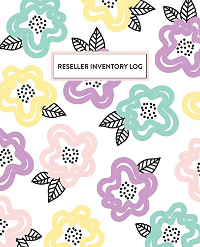 Reseller Inventory Log: Product Listing Notebook For Online Clothing Resellers
