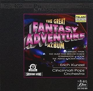 The Great Fantasy Adventure Album (Ultra High Definition 32-Bit Mastering) by Erich Kunzel & The Cincinnati Pop Orchestra (2013-11-19)