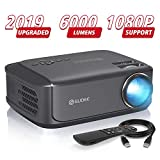 Video Projectors, GuDee Full HD Movie Projector for Home Theater, Overhead Projector for Business PowerPoint Presentations, Compatible with Laptop, Smartphone, HDMI, USB