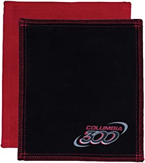 Columbia 300 Shammy Bowling Ball Cleaning Pad- Black/Red