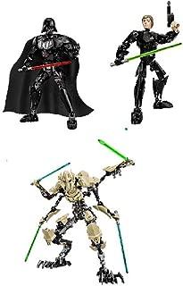 Lego Star Wars Luke Skywalker 75110 & Darth Vader 75111 & General Grievous 75112 - 3 pack set