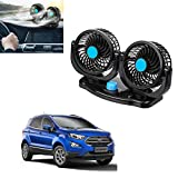 Adroitz 2 Gears 360 Degree Rotating Car Cooling Fan Air Conditioner Ford Ecosport