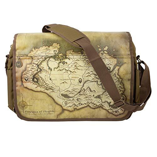 "Gaya The Elder Scrolls V: Skyrim Messenger Bag ""Map"" - Not Machine per:"