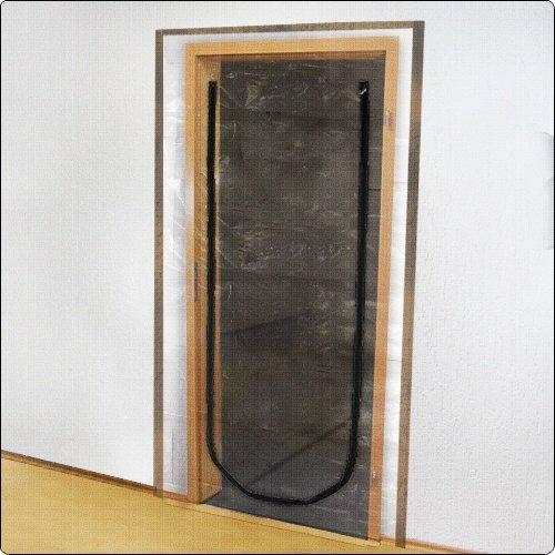 Folien Staubschutztür mit Reißverschluss 210 x 110 cm