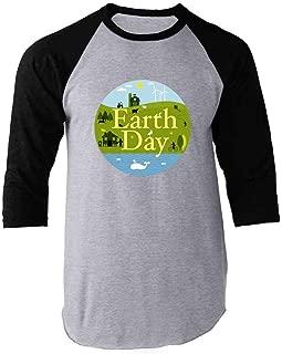 Earth Day April 22 Save The Planet Raglan Baseball Tee Shirt