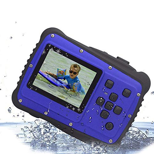 "Vmotal GDC5262 Impermeable cámara Digital con Zoom Digital de 8X / 8MP / 2"" TFT LCD de la Pantalla/Cámara Impermeable para niños (Azul)"