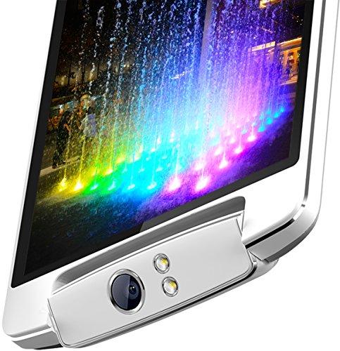 "Kocaso Platinum V8 16GB Octa Core 3G Unlocked Dual Sim SmartPhone With Rotating 13MP Camera & 5.5"" IPS Display"