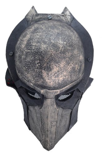 Brand New Black Wire Mesh Alien Vs Predator AVP Falconer Full Face Protection Paintball Mask Halloween PROP Cosplay L618