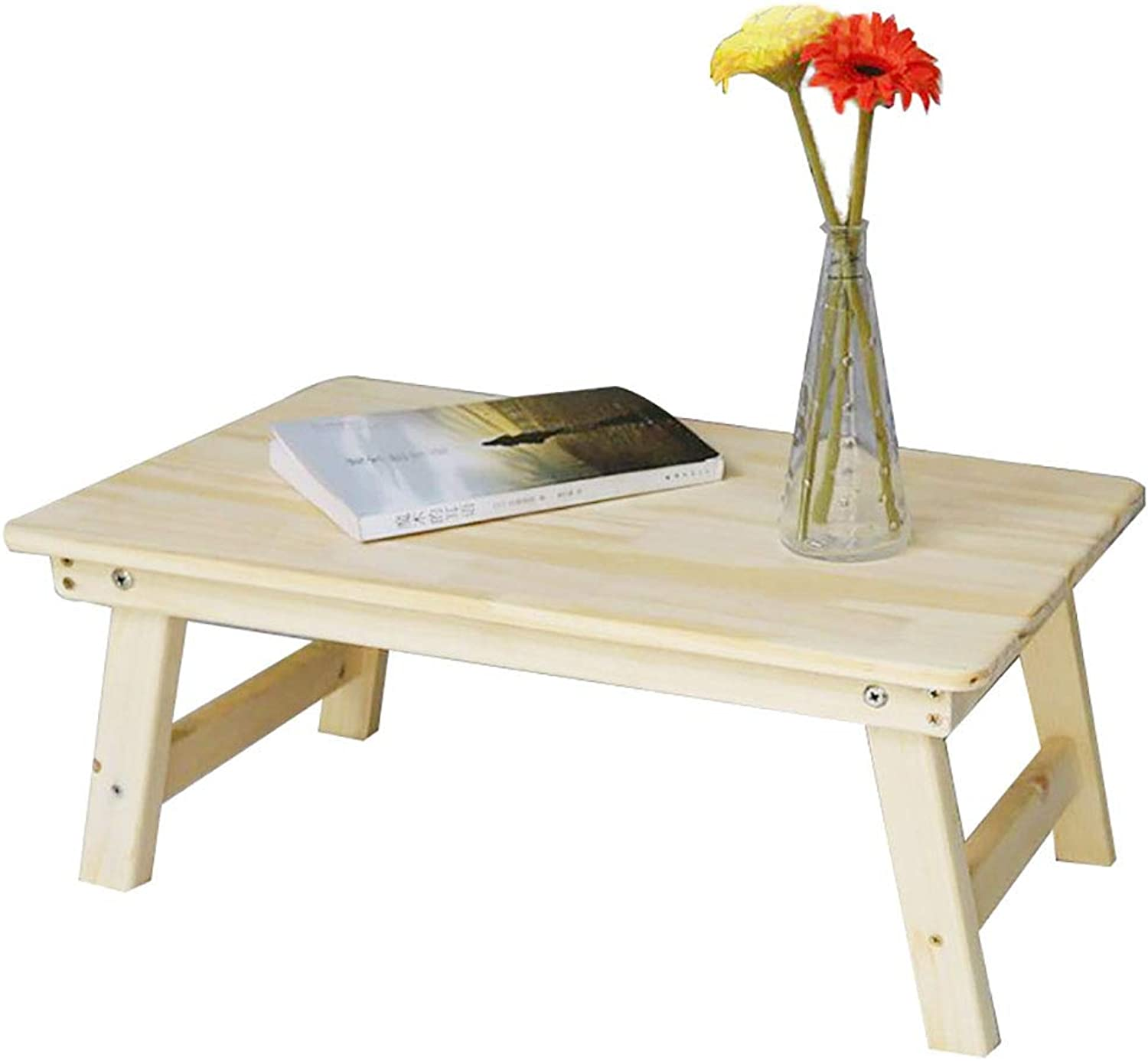 Bed Desk Folding Bed with Small Table Dormitory College Student Solid Wood Simple Laptop Desk Wood